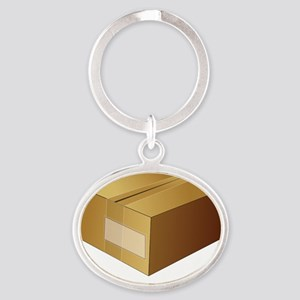 Package Oval Keychain