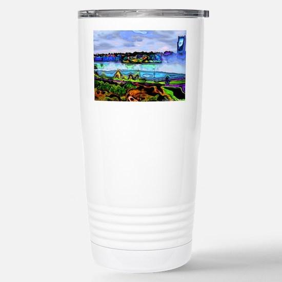 Horseshoe Falls Stainless Steel Travel Mug