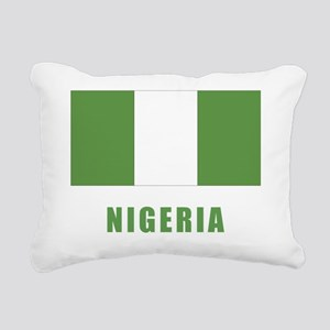 nigeria_flag Rectangular Canvas Pillow