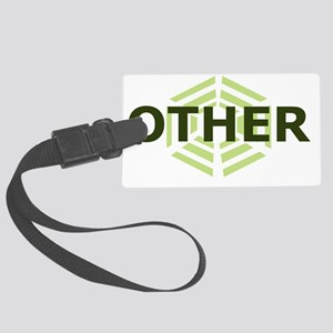 OTHER GREEN Large Luggage Tag