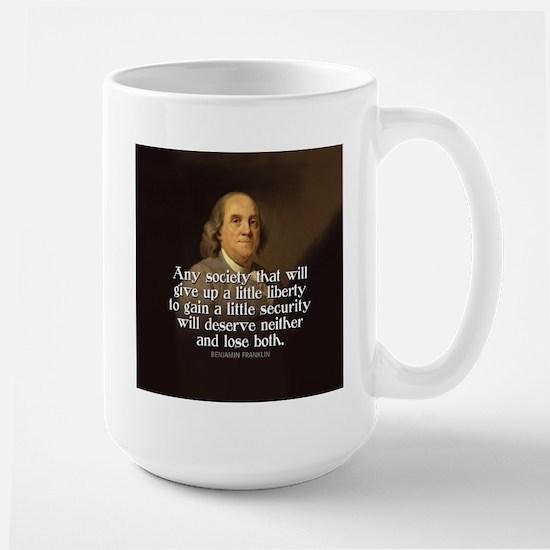 Ben Franklin Quote Mugs