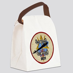 barb patch Canvas Lunch Bag