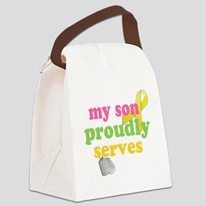 sonserves1 Canvas Lunch Bag
