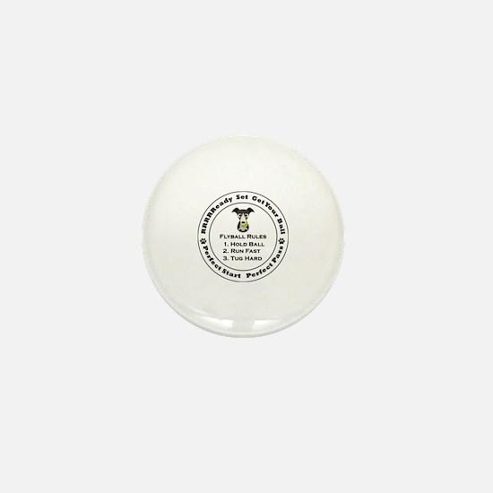 Unique Flyball Mini Button