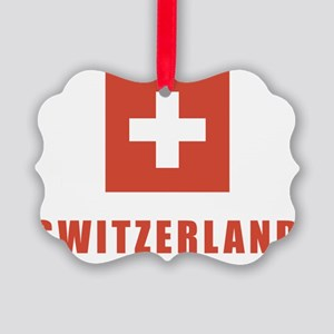 switz_flag Picture Ornament