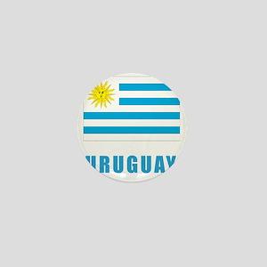 uruguay_flag Mini Button