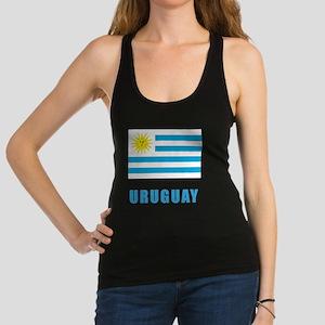uruguay_flag Racerback Tank Top