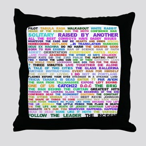 LOSTEpis Throw Pillow