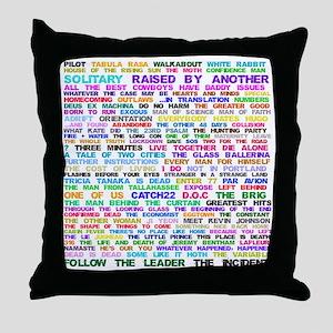LOSTEpis Throw Pillow