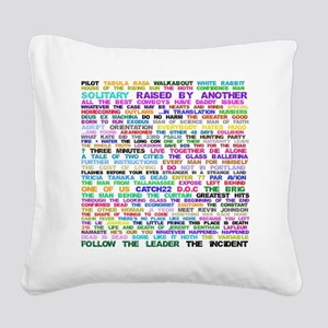 LOSTEpis Square Canvas Pillow