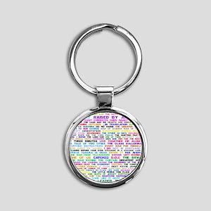 LOSTEpis Round Keychain