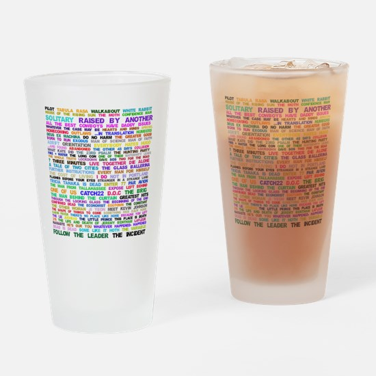 LOSTEpis Drinking Glass