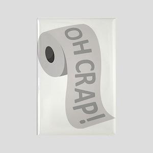 toilet3_black Rectangle Magnet