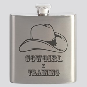 COWGIRL IN TRAINING 1 Flask