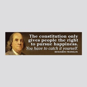 Ben Quote Constitution Wall Decal
