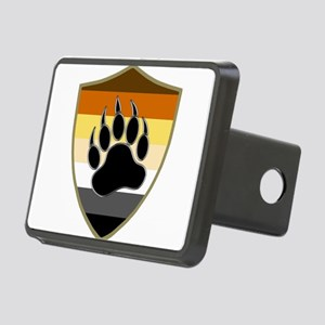 GAY BEAR PRIDE BEAR PAW SHIELD Hitch Cover
