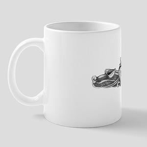 waddell white letters Mug