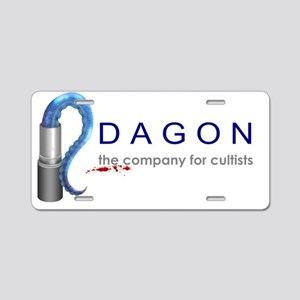 Dagon Cosmetics Aluminum License Plate