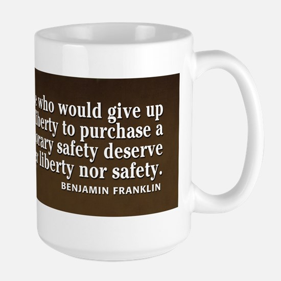 Ben Quote Liberty Mugs