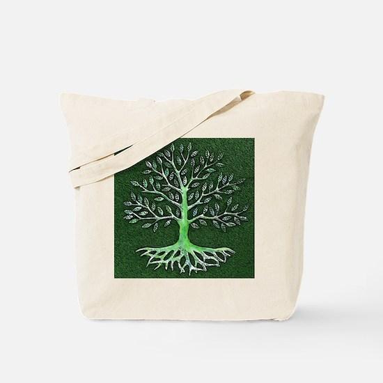 Verd Haitian Relief Tree Tote Bag