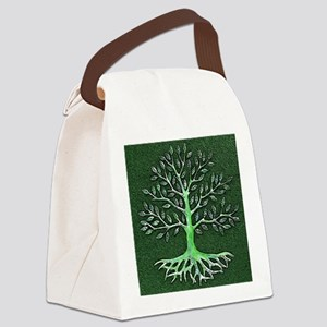 Verd Haitian Relief Tree Canvas Lunch Bag