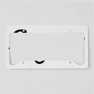 ILOVEMYDADDYPINK License Plate Holder