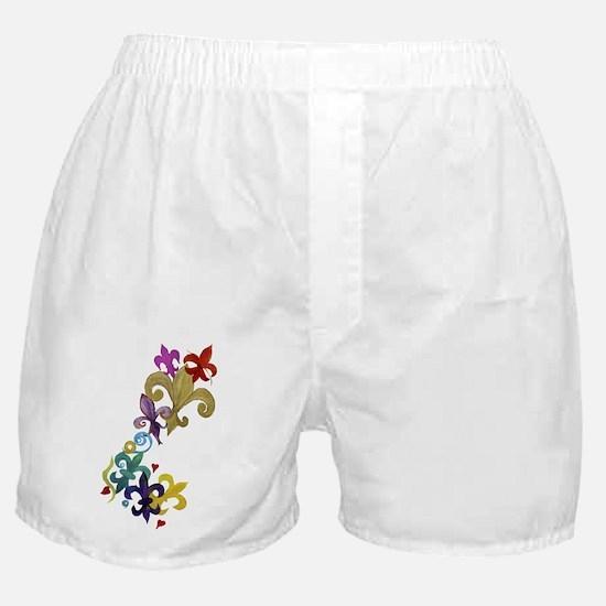 Fleur de lis t-shirts Boxer Shorts