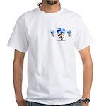 Glesga Pals White T-Shirt