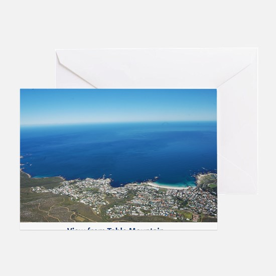 Table Mountain 4 Greeting Card