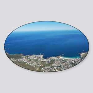 Table Mountain 4 Sticker (Oval)