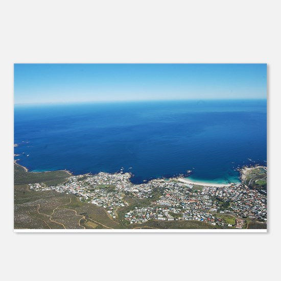 Table Mountain 4 Postcards (Package of 8)