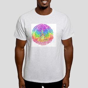 Meditate lg Light T-Shirt