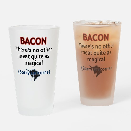 Magical Meat Drinking Glass