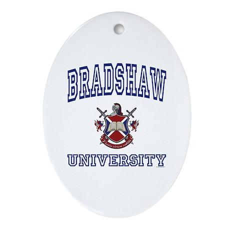 BRADSHAW University Oval Ornament