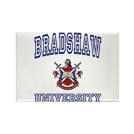 BRADSHAW University Rectangle Magnet