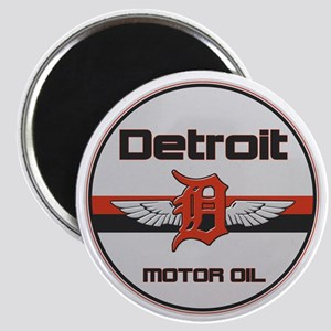 Detroit Motor Oil copy Magnet