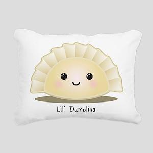 lil_dumpling Rectangular Canvas Pillow