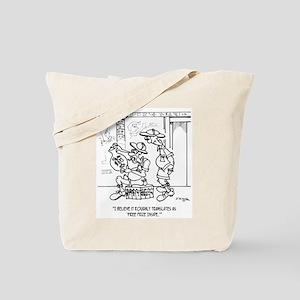 Free Prize Inside Egyptian Urn Tote Bag