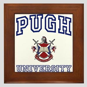 PUGH University Framed Tile