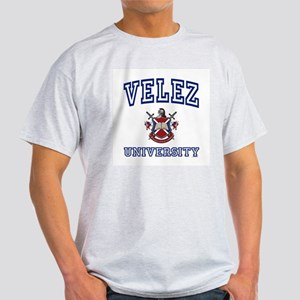 VELEZ University Ash Grey T-Shirt
