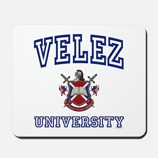VELEZ University Mousepad