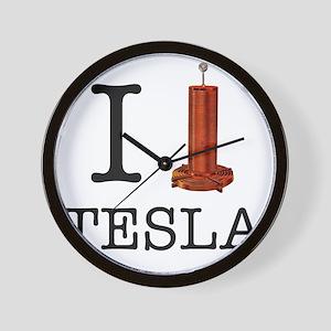 Tesla-1 Wall Clock