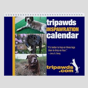 Tripawds Wall Calendar #6 - New For 2014