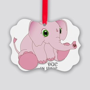 elephant_fnl Picture Ornament
