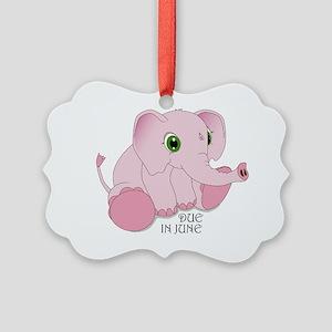 elephant_fnl Picture Ornament
