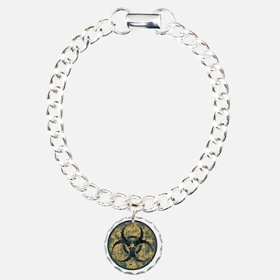 biohaz-thorn-T Charm Bracelet, One Charm