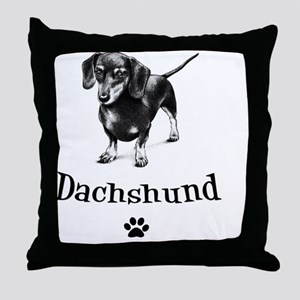 cafedoxie Throw Pillow