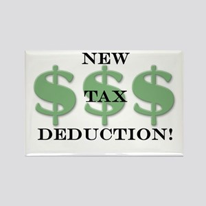 New tax deduction baby Rectangle Magnet