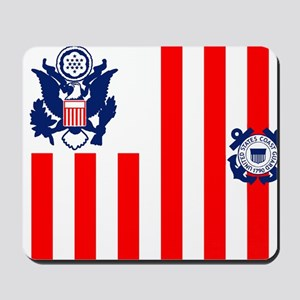 3-USCG-Flag-Ensign-Full-Color Mousepad