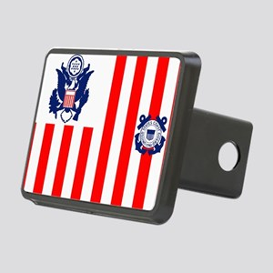 3-USCG-Flag-Ensign-Full-Co Rectangular Hitch Cover